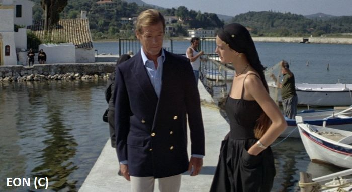 """Monastyr Vlachera (Kerkyra) w filmie """"Tylko dla twoich oczu"""" z cyklu o 007."""
