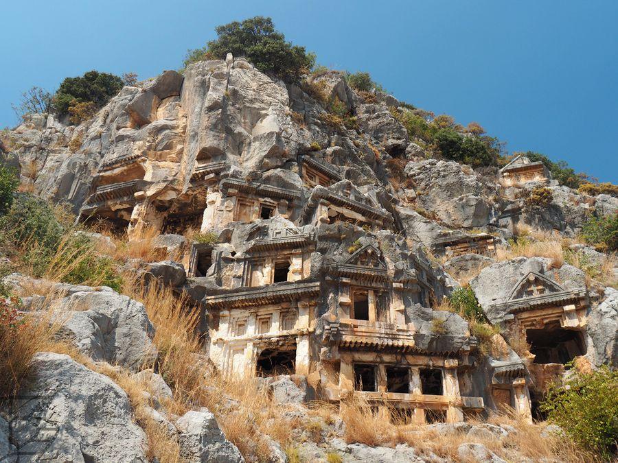 Grobowce w Myrze