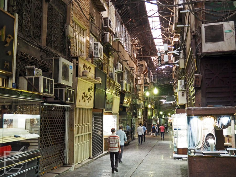 Wielki Bazar, Teheran