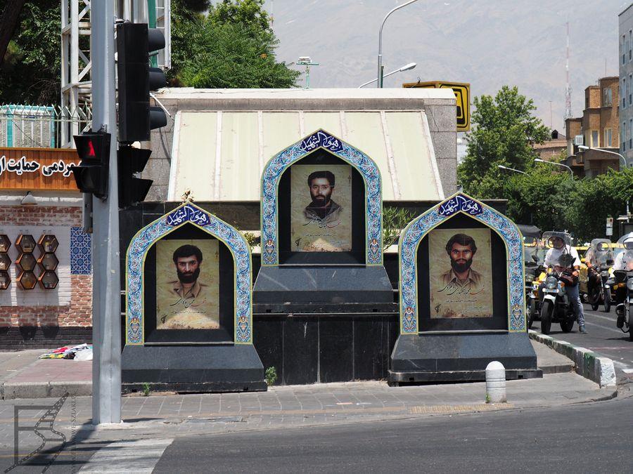Zdjęcia bohaterów, Teheran