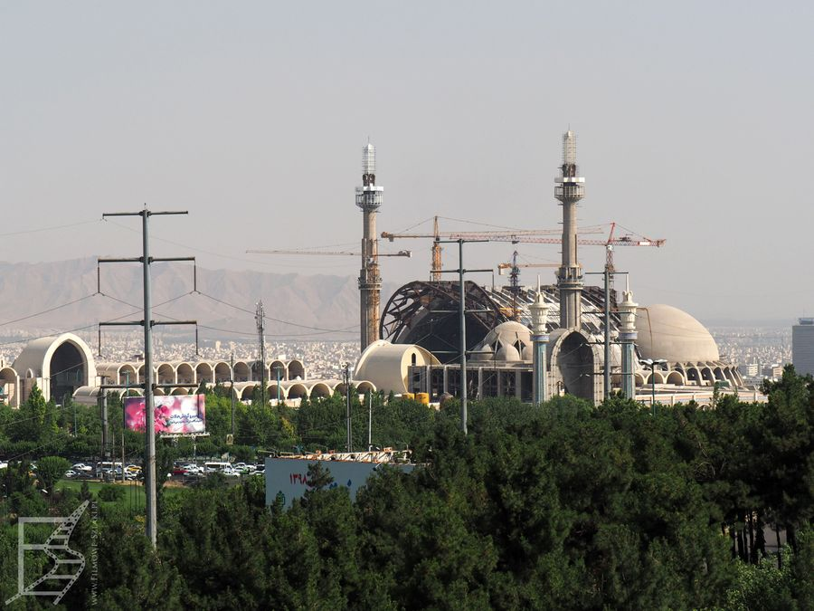 Konstrukcja nowego meczetu