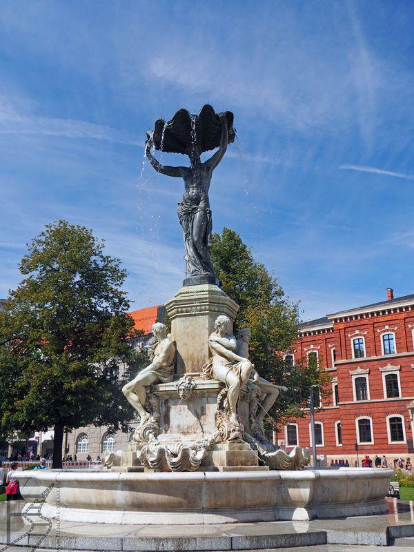 Fontanna Muschelminnabrunnen