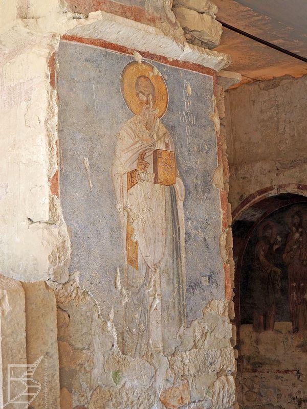 Freski w kościele św. Mikołaja