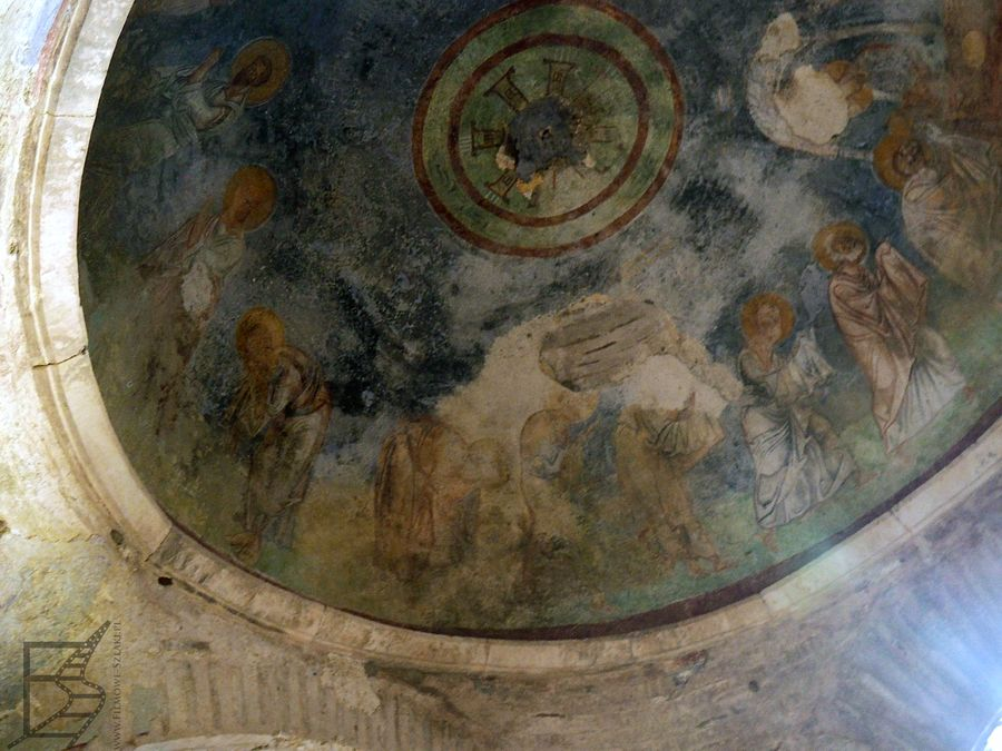 Fresk na kopule w kościele św. Mikołaja