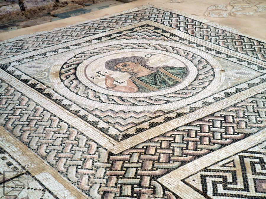 Mozaiki w Kurion