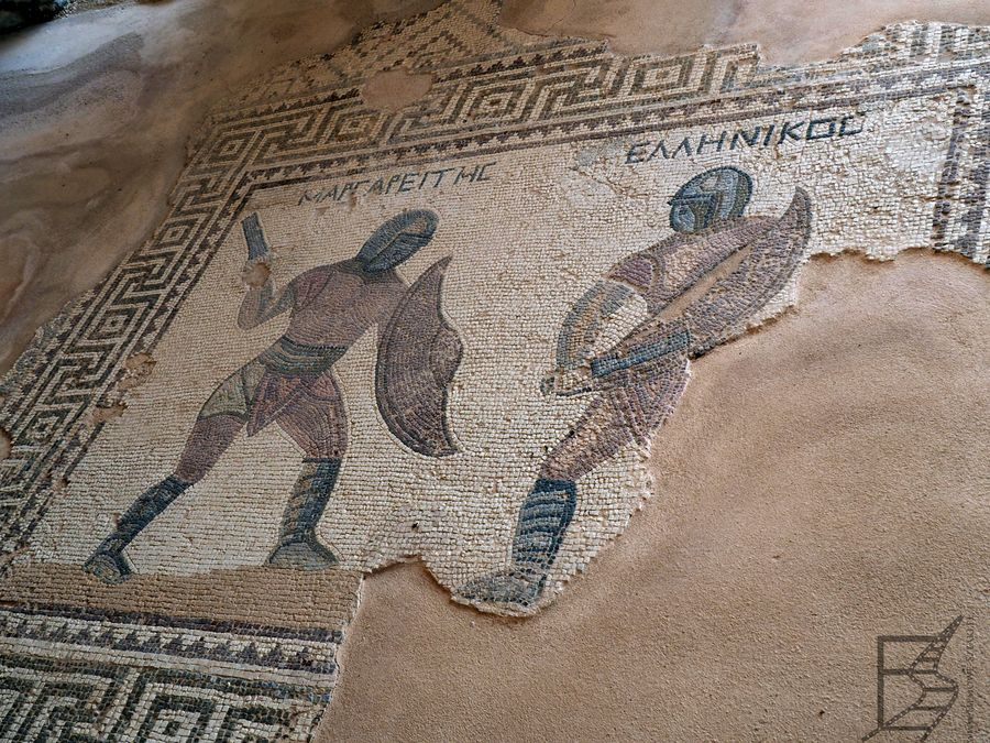 Mozaika w Domu Gladiatorów (Kurion, Cypr)