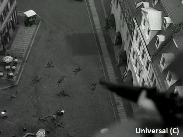 """Widok rynku Görlitz w miniaturze """"Duma narodu"""" (część """"Bękartów wojny"""")"""