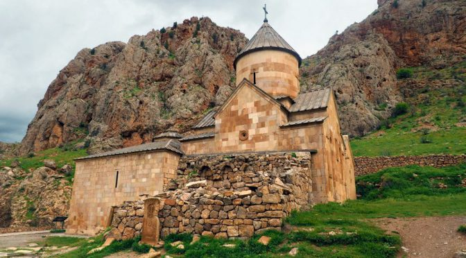 Klasztor Norawank i Areni, najstarsza winnica świata