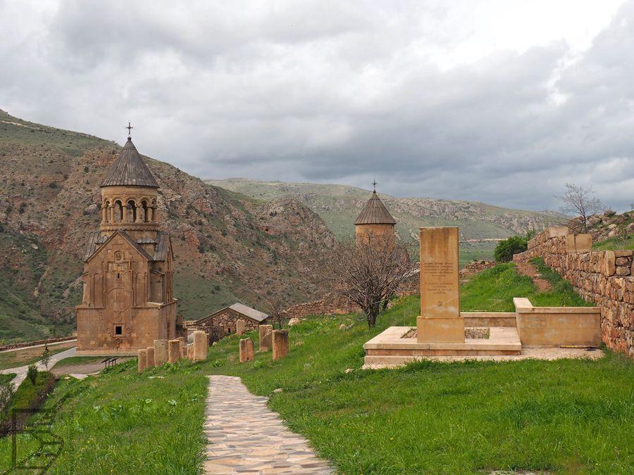 Zabudowa klasztorna została dobrze odtworzona