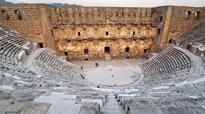 Teatr Aspendos w całej okazałości