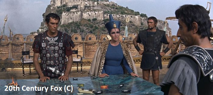 """Ischia i Zamek Aragoński w filmie """"Kleopatra"""""""