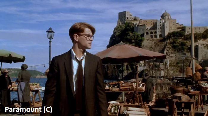 """Ischia i Zamek Aragoński w filmie """"Utalentowany Pan Ripley"""""""