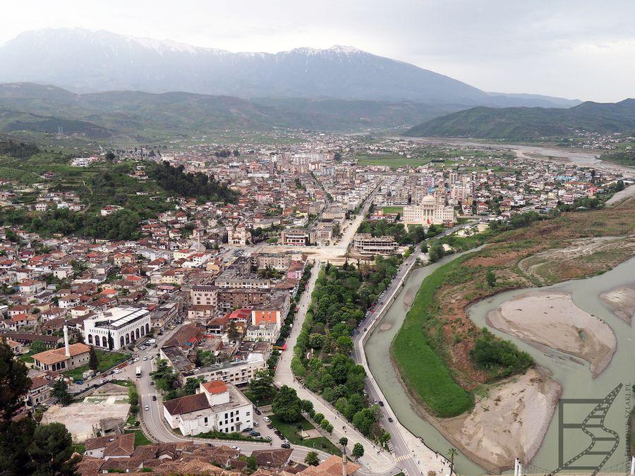 Widok na Berat z zamku