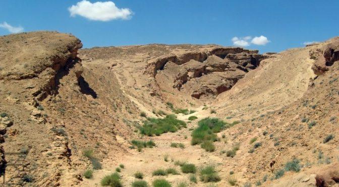 """Sidi Bouhlel, kanion z """"Gwiezdnych Wojen"""""""