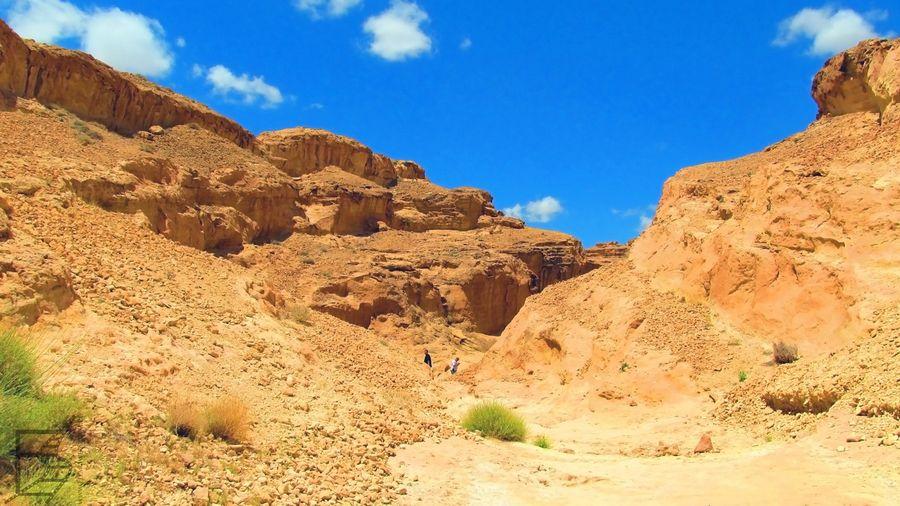 Widok na wąwóz Sidi Bouhlel