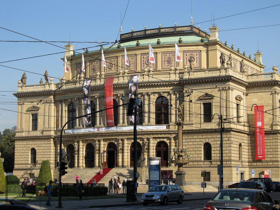 Rudolfinum, czeska filharmonia