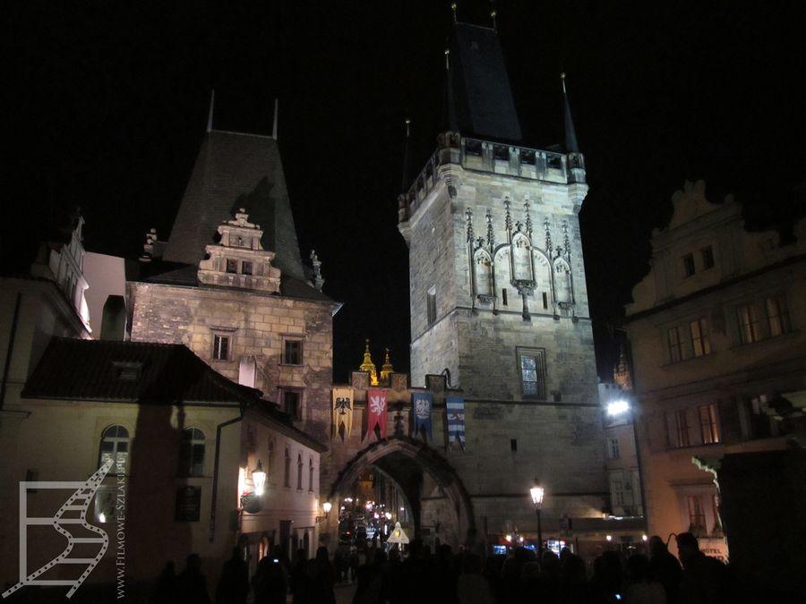 Centrum Pragi nocą