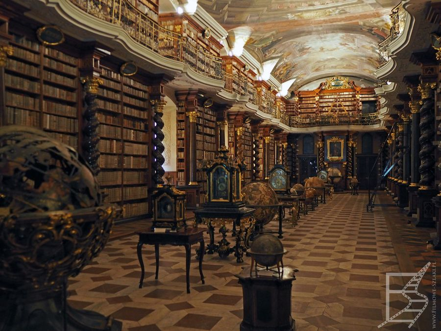 Biblioteka w Klementinum