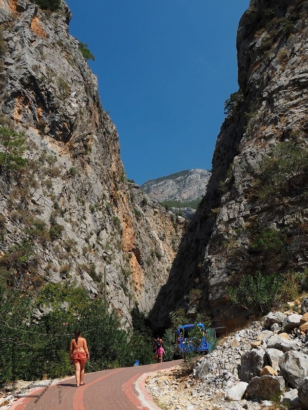 Wejście do kanionu Sapadere