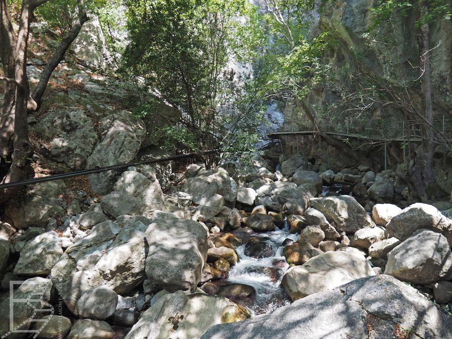 Zwiedzanie kanionu