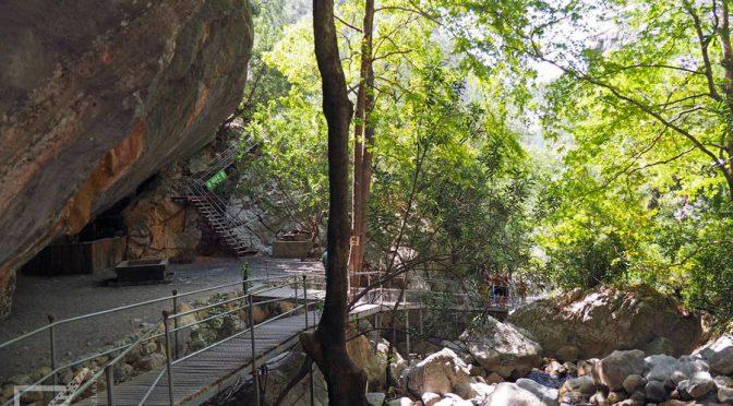 Kanion Sapadere, wąwóz w górach Turcji