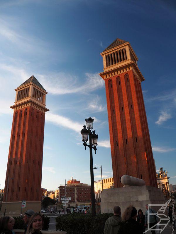 Wieże Weneckie (Barcelona)