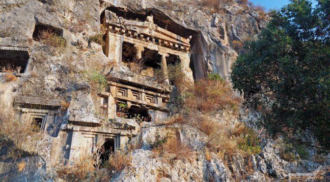 Fethiye, riwiera licyjska w Turcji i bar z Jamesa Bonda
