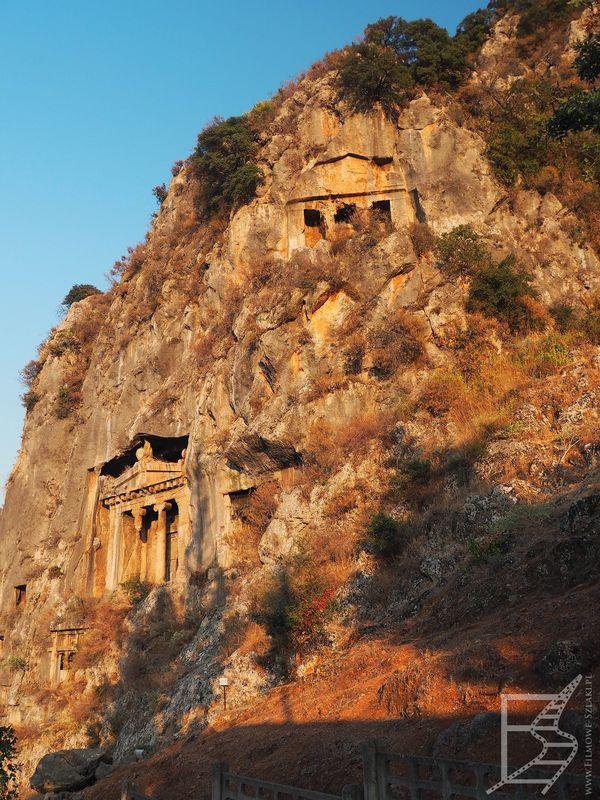 Grobowce licyjskie w Fethiye
